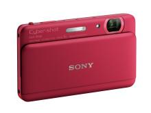 Cyber-shot DSC-TX55 von Sony_Rot_02