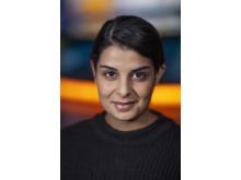 Lilla Aktuellt: Aida Pourshahidi, nominerad i kategorin Årets Röst 2018