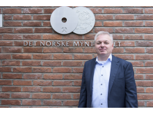 Ole Bjørn Fausa, styreformann i Samlerhuset og Myntverket.