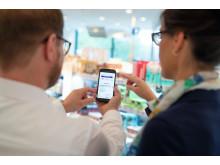 Kundenberatung mit Smartphone