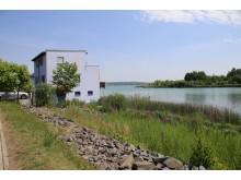 Der Hainer See im Leipziger Neuseenland