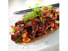 Recept ur matkassen: kinesisk wok