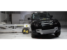 Land Rover Defender - Side Mobile Barrier test 2020