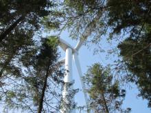 Invigning vindkraft Össjö 2