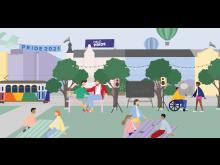 Illustrasjon Oslo Pride 2021