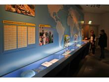 Ausstellungsraum zur Bundeswehr heute (Auslandseinsätze)