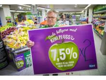 KIWI dobler bonusen på fersk frukt og grønt.