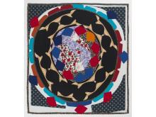 Noa Eshkol, A Big Kolo (Folk Dance), 1978 Cotton, lawn, crepe, 220 x 205 cm