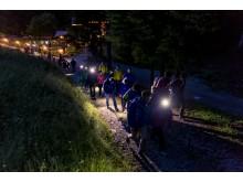 OutdoorTesival im Trentino Nachtwanderung