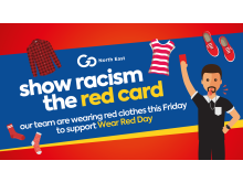Go North East set to join Show Racism the Red Card for Wear Red Day