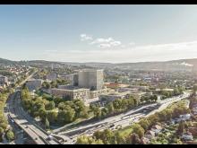 Illustration fra dispositionsfasen udviklet af Nordic Office of Architects og AART