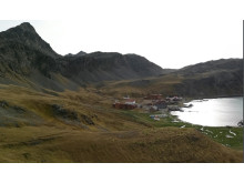 Grytviken from viewpoint