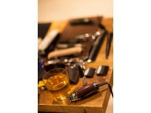 En barberares arbetsverktyg