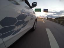 Hyundai ix35 på full fart mot ny rekord - 700,3 km for el. brenselcellebiler,