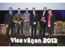 Vinnarna Visa vägen 2013