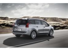 Nya generationen Peugeot 5008_bakifrån_dynamisk