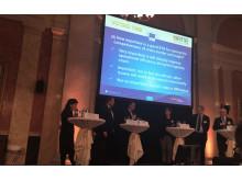 Green Cargo VD Jan Kilström på möte med Violetta Bulc, EU-kommissionär för transportfrågor