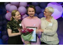 Emil Jensen får Region Skånes kulturpris