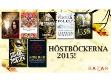 Höstböckerna från Bazar Förlag!