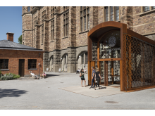 Nordiska museets nya entré