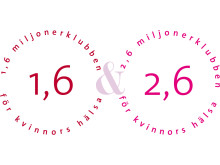 1.6 & 2.6miljonerklubbens logo