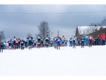 Trysil Skimaraton starten ved Østby