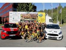 Ford sponser Team Rynkeby 2018