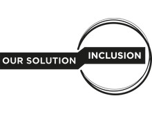 our solution inclusion logotyp svart_genomskinlig