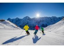 Skifahren am Schilthorn