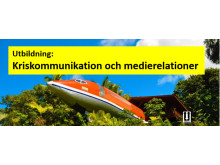 Utbildning i kriskommunikation och mediarelationer