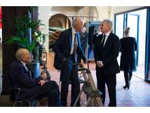 Krigsveteraner i samtale med Ole Bjørn Fausa