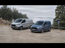 Ford Transit Connect Active og Transit Custom Active 2020