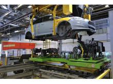 Ford startet produksjonene av europeisk elektrisk Focus i dag.