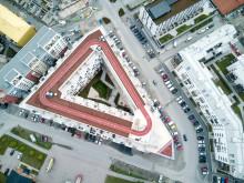 Brf Inspiration Rosendal. Arkitekt Mikael Ahrbom. Foto: Jan-Emil Jansson