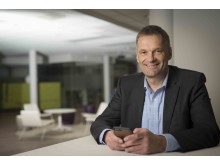 Abraham Foss, CEO i Telia Norge