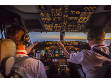 Boeing 737-800 ohjaamo