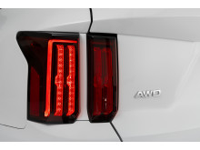 rear led lamps and AWD emblem