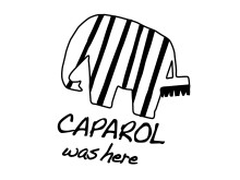Caparol was here logga