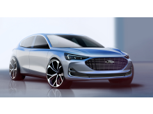 Ford Focus 2021 Titanium skisse