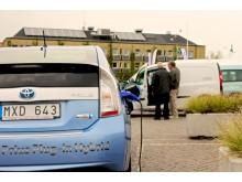 Plug-in hybrid och elbil vid Malmö stads fordonsmässa 2012