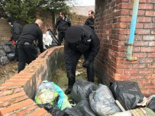Maxtrix officers search industrial premises in St Helens