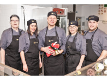 Utsäljeskolan i Huddinge finalist i Arla Guldko 2015 Bästa Matglädjeskola