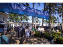 Jazz, Sonne, Ostseeluft: Die JazzBaltica am Timmendorfer Strand. Hier im Jahr 2019.