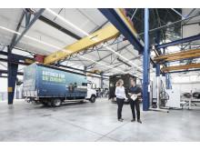BPW testet die elektrische Antriebsachse