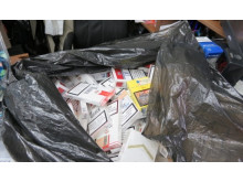 Op Scary - Cigarettes seized by HMRC 1