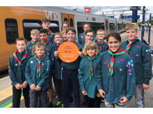 Scouts Bromsgrove Cross City Heroes plaque