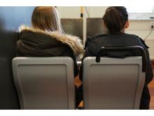 Brukertesting valg og plassering av seter.