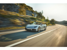 Jubileumsmodellen Porsche Boxster 25 years