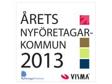 Årets nyföretagarkommun 2013