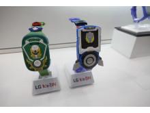 IFA-messen 2014 - LGs Kiz On-klokker